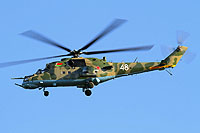 Helicopter-DataBase Photo ID:17480 Mi-24RCh Belarus Air and Air Defence Force EW48 white cn:3534623912966