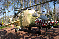 Helicopter-DataBase Photo ID:9896 Mi-24D unknown 50 white
