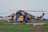 Helicopter-DataBase Photo ID:16439 Mi-24D 87th Bakony Combat Helicopter Regiment 105 cn:K20105