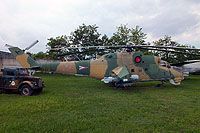 Helicopter-DataBase Photo ID:16847 Mi-24D Aviation Museum Szolnok 114 cn:K20114