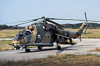 Helicopter-DataBase Photo ID:1202 Mi-24D 87th Bakony Combat Helicopter Regiment 115 cn:K20115