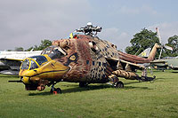 Helicopter-DataBase Photo ID:6062 Mi-24D Aviation Museum Szolnok 117 cn:K20117