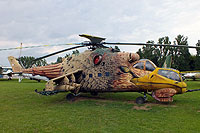 Helicopter-DataBase Photo ID:16846 Mi-24D Aviation Museum Szolnok 117 cn:K20117