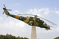 Helicopter-DataBase Photo ID:15057 Mi-24D unknown 574 cn:220574