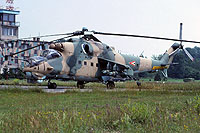 Helicopter-DataBase Photo ID:16442 Mi-24D 87th Bakony Combat Helicopter Regiment 576 cn:220576