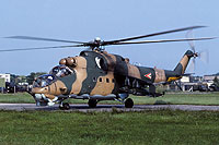 Helicopter-DataBase Photo ID:16444 Mi-24D 87th Bakony Combat Helicopter Regiment 580 cn:220580