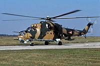 Helicopter-DataBase Photo ID:16445 Mi-24D (Training) 87th Bakony Combat Helicopter Regiment 581 cn:220581