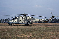 Helicopter-DataBase Photo ID:16448 Mi-24V 87th Independent Combat Helicopter Regiment 711 cn:220711