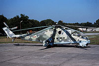 Helicopter-DataBase Photo ID:16484 Mi-24V 87th Independent Combat Helicopter Regiment 712 cn:220712