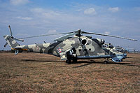 Helicopter-DataBase Photo ID:16449 Mi-24V 87th Independent Combat Helicopter Regiment 713 cn:220713