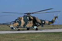 Helicopter-DataBase Photo ID:16447 Mi-24V 87th Bakony Combat Helicopter Regiment 718 cn:220718
