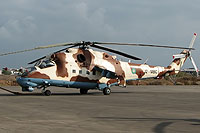 Helicopter-DataBase Photo ID:6450 Mi-24P Djibouti Air Force J2-MBC