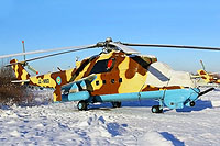 Helicopter-DataBase Photo ID:13186 Mi-24V Djibouti Air Force J2-MBD