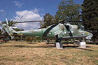 Helicopter-DataBase Photo ID:16365 Mi-24D Artillery Park 109 cn:04390