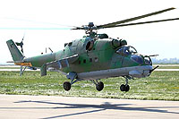Helicopter-DataBase Photo ID:12165 Mi-24D Metalika-AV  cn:730202