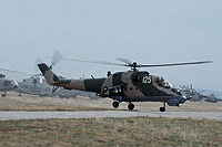 Helicopter-DataBase Photo ID:16893 Mi-24D 24th Helicopter Air Base 125 cn:150291