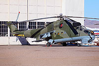 Helicopter-DataBase Photo ID:13981 Mi-24D Vertol Systems Company Inc N114VS cn:04395