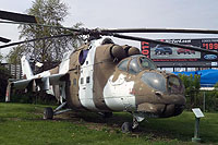 Helicopter-DataBase Photo ID:766 Mi-24D Russell Military Museum 110 red cn:3532424015870