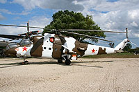 Helicopter-DataBase Photo ID:776 Mi-24D Russell Military Museum 110 red cn:3532424015870
