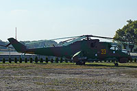 Helicopter-DataBase Photo ID:14871 Mi-24D Slovakia Ring 33 yellow cn:M340102