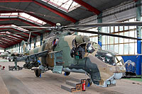 Helicopter-DataBase Photo ID:14877 Mi-24D Aviation Museum Olomouc 0103 cn:M340103
