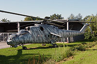 "Helicopter-DataBase Photo ID:14184 Mi-24D Aircraft Exhibition ""Red Stars""  cn:M340146"