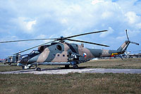Helicopter-DataBase Photo ID:800 Mi-24D 51st Helicopter Regiment 0151 cn:150151
