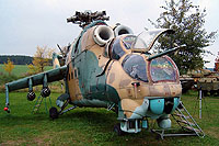 Helicopter-DataBase Photo ID:6522 Mi-24D Air Park Zruč 0216 cn:340216