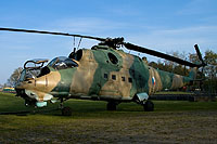 Helicopter-DataBase Photo ID:6318 Mi-24D Privat Wierden 0219 cn:340219