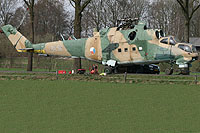 Helicopter-DataBase Photo ID:7342 Mi-24D Privat Wierden 0219 cn:340219
