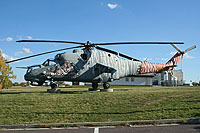 Helicopter-DataBase Photo ID:15807 Mi-24V 22nd Helicopter Base 0705 cn:730705