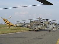 Helicopter-DataBase Photo ID:1666 Mi-24V 33rd Helicopter Base 0815 cn:730815