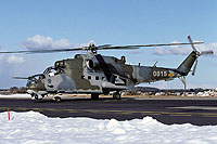 Helicopter-DataBase Photo ID:17549 Mi-24V 23rd Helicopter Base 0815 cn:730815