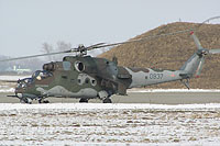 Helicopter-DataBase Photo ID:1653 Mi-24V (RAM modification) 23rd Helicopter Base 0837 cn:730837