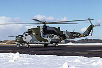 Helicopter-DataBase Photo ID:17550 Mi-35 23rd Helicopter Base 7357 cn:087357