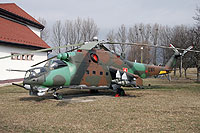 Helicopter-DataBase Photo ID:10713 Mi-24D Helicopter Wing of Colonel General Ján Ambruš 0101 cn:M340101