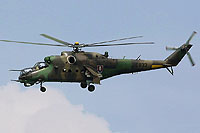 Helicopter-DataBase Photo ID:15362 Mi-24V Helicopter Wing of Colonel General Ján Ambruš 0833 cn:730833