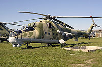 Helicopter-DataBase Photo ID:6042 Mi-24DU Museum of Military History Piešťany 6040 cn:7306040