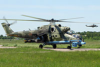 Helicopter-DataBase Photo ID:13086 Mi-24PN Russian Air Force 04 red