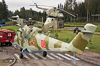 Helicopter-DataBase Photo ID:13441 Mi-24V unknown 08 red cn:3532423319917