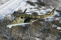 Helicopter-DataBase Photo ID:15124 Mi-24P Russian Air Force 09 red cn:3532432521539