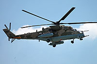 Helicopter-DataBase Photo ID:15215 Mi-24VM-3 Russian Air Force 103 blue cn:34075817143