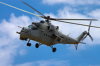 Helicopter-DataBase Photo ID:15216 Mi-24P Rostvertol 109 black