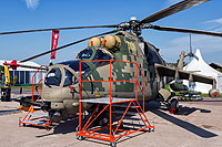Helicopter-DataBase Photo ID:16349 Mi-24VP Russian Helicopters 1108 yellow cn:3532012913138