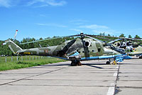 Helicopter-DataBase Photo ID:13088 Mi-24PN Russian Air Force 11 red