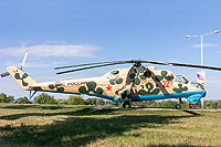 Helicopter-DataBase Photo ID:17411 Mi-24V Park Patriot 22 red cn:3532421014322