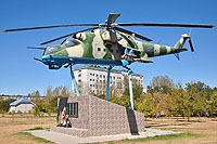Helicopter-DataBase Photo ID:16770 Mi-24V Russian Air Force 24 blue