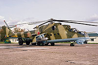 Helicopter-DataBase Photo ID:14278 Mi-24VP Baltic Fleet 31 red