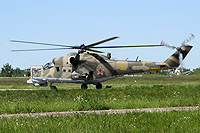 Helicopter-DataBase Photo ID:13089 Mi-24PN Russian Air Force 31 yellow cn:3532432622986
