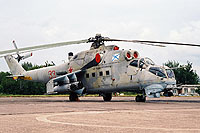 Helicopter-DataBase Photo ID:14280 Mi-24VP Baltic Fleet 33 red